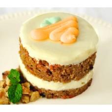 Морковное пирожное